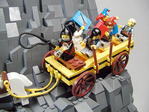 LEGO School Bus Medieval