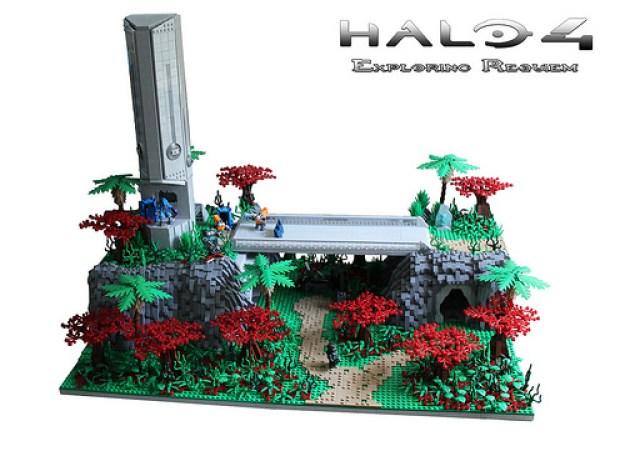 Lego Halo 4: Exploring Requiem