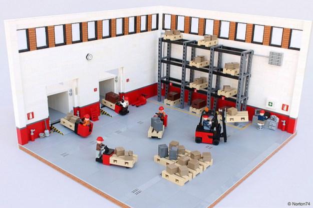 Warehouse Life | loading/unloading