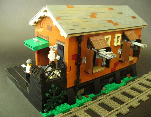 LEGO Goods Warehouse by Tim Gould