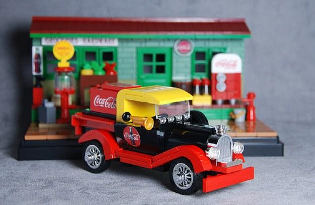 Classic Coke Delivery Truck