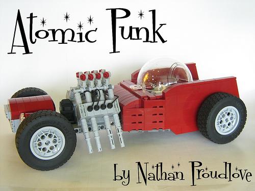 Lego Atomic Punk Hot Rod
