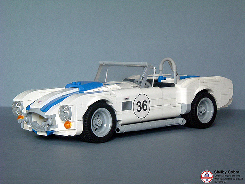 Lego Shelby Cobra