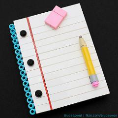 LEGO Notepad