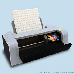 LEGO Printer (CMYK)