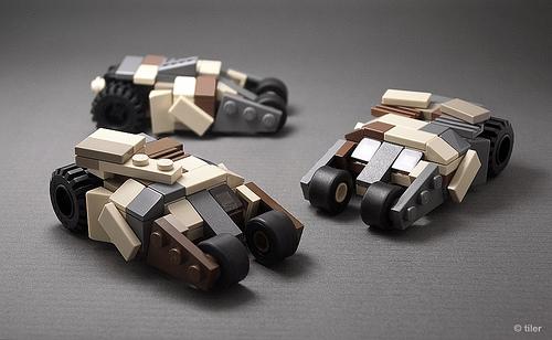 Mini LEGO Batman camo Tumblers