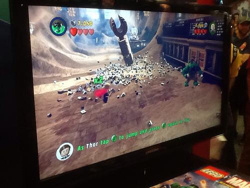 Lego Marvel Game Demo