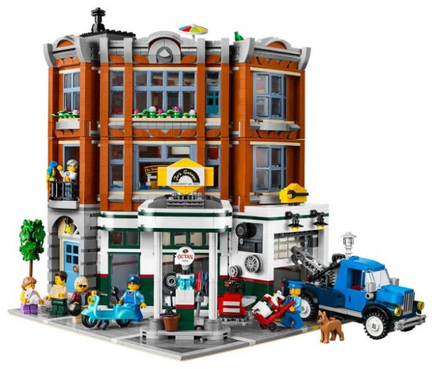 10264 corner garage revealed as 2019 lego creator expert. Black Bedroom Furniture Sets. Home Design Ideas