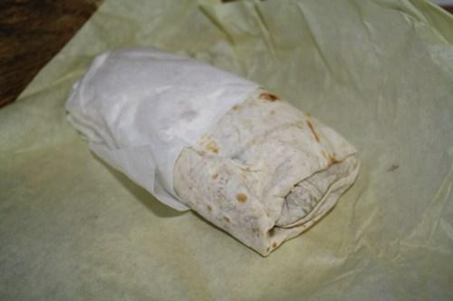 El Burrito Chano's de aspecto humilde, pero lleno de sabor y a buen precio. (Foto Agustín Durán/El Pasajero).