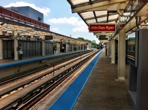 Estación Fullerton en Chicago. Foto: Joseph Lemon/Metro.