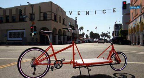 Admire esta bicicleta en el Festival de Bicicletas de Santa Mónica. Foto Vía Santa Monica Bike Festival Official  Facebook.