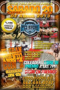 charreada Pico Rivera