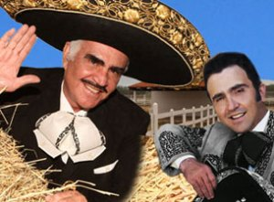 Vicente Fernandez e hijo