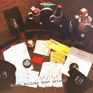Algunos de los premios que se darán los ganadores.