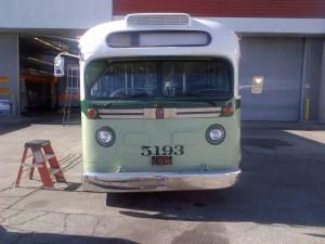 Réplica del autobús que abordó Rosa Parks en 1955. Foto: Metro.