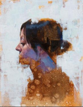 Totem, de John Wentz, via LA Art Show.