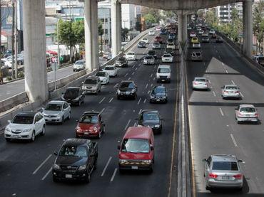 Tráfico en la Ciudad de México. Foto: El Informador.