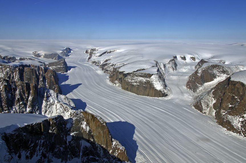 Groenlandia se está derritiendo.