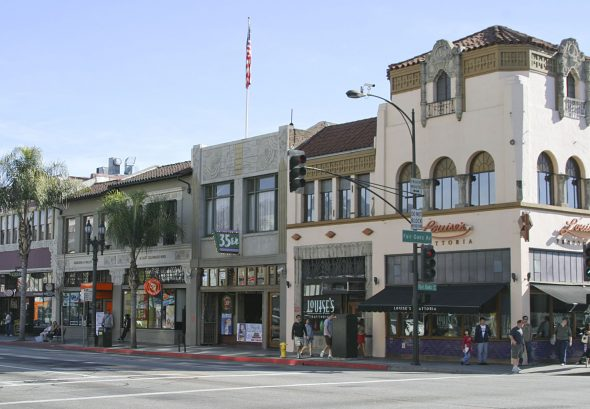 Colorado Avenue en Pasadena.