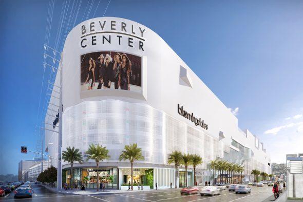 La nueva torre estará muy cerca del Beverly Center.