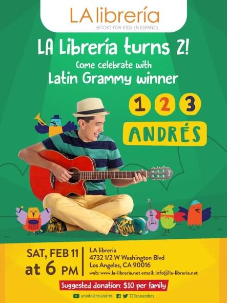 Fliers 2017_123 Andrés La Librería