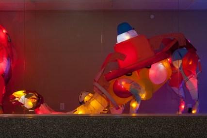 "Cynthia Minet's ""Packing (Caravan)"" at LAX. Photo: PanicStudio LA"