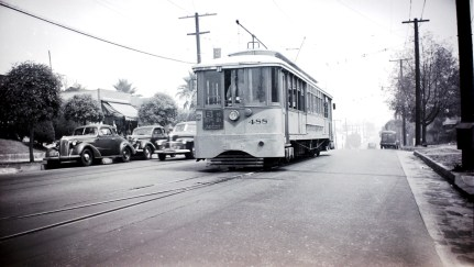 B Line at Evergreen & Brooklyn in Boyle Heights. Photo by Alan Weeks.