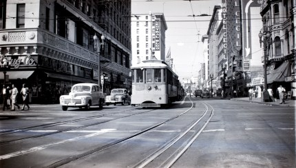 B Line at Main & 7th in downtown L.A. Photo by Alan Weeks.