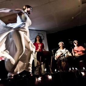 Atabey performance. Photo courtesy of Atabey
