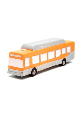 It's a 'stress' bus -- and will also be available in red!