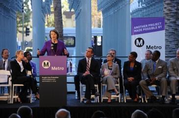 Sen Dianne Feinstein. Photo by Juan Ocampo for Metro.
