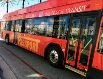 Long Beach Transit Passport free shuttle.