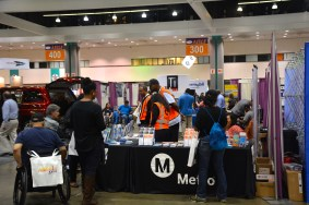 Metro booth at Abilities Expo 2015.
