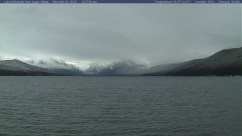 Lake McDonald in Glacier N.P. in Montana. Actually looks like winter.