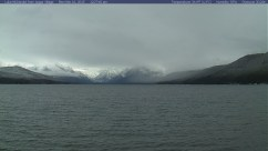 Lake McDonald in Glacier N.P. in Montana. Actually looks like winter.