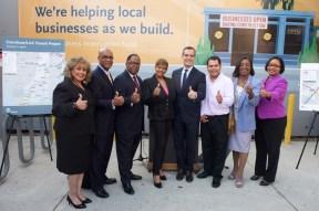 Crenshaw Business Interruption Fund. Photo: Gary Leonard/Metro