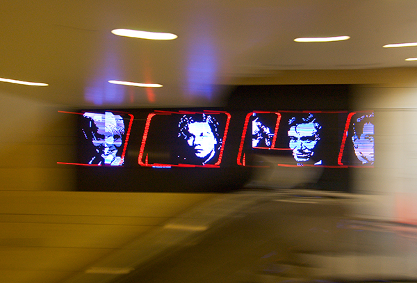 A-Train by Bill Bell produces hidden images and sound with certain coaxing.