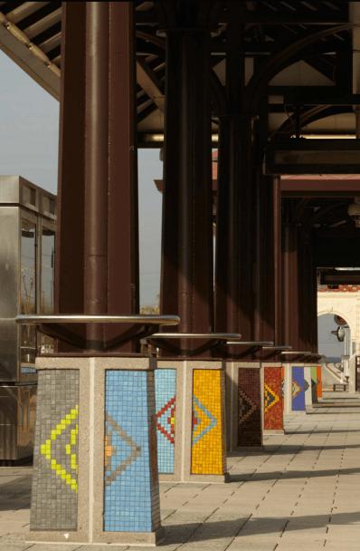 A Passage Through Memory at Azusa Downtown Station.