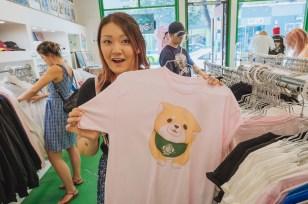 Doing a little shopping at POP Little Tokyo.