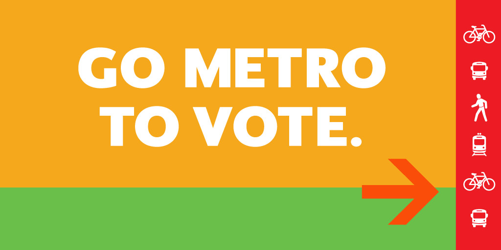 Image result for go metro to vote