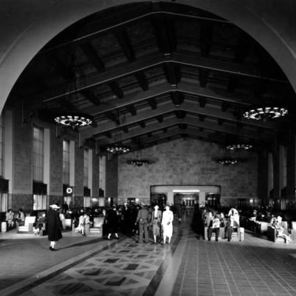 Union Station main concourse, 1939.