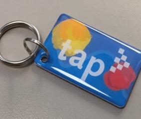 TAP Mini key fob.