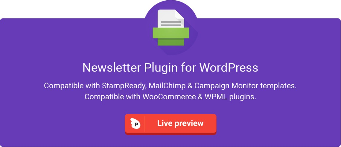 Newsletterfy - Newsletter Email Marketing Sales Conversion Plugin for WordPress 2