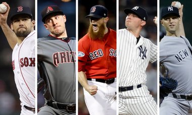 MLB rumors: Phillies could trigger wave of signings by pitchers | Nathan Eovaldi, Patrick Corbin, J.A. Happ, more