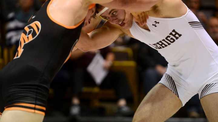 "Princeton wrestling relishing ""biggest win in program history"" over Lehigh"
