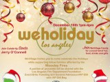 WeHoliday Celebrity Fundraising Event With Celebrity Host Jerry O'Connell