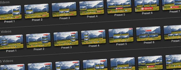 Pixel Film Studios - ProTube Outro for Mac 1.0 激活版 - FCPX插件:社交网络视频结尾定版屏幕模板插件