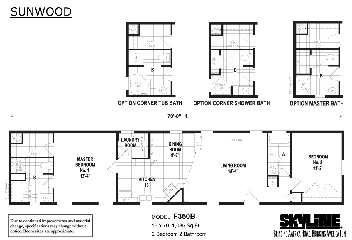 Sunwood F350b By Skyline Homes