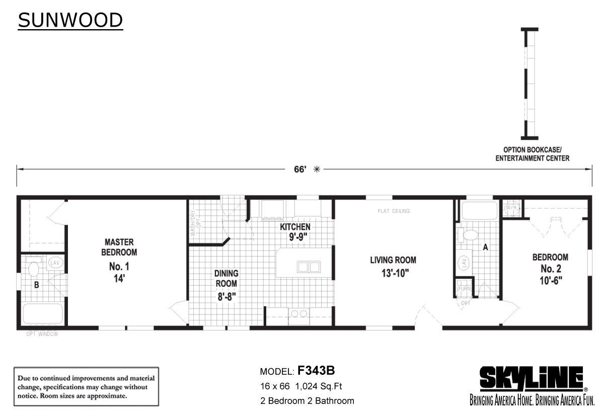 Sunwood F343b By Skyline Homes