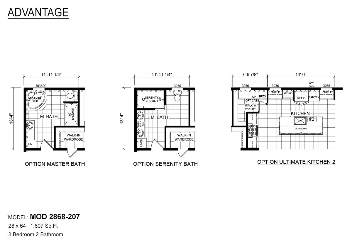 Advantage Modular Mod 207 By Davis Homes